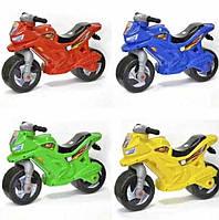 Беговел мотоцикл Орион 501 разные расцветки