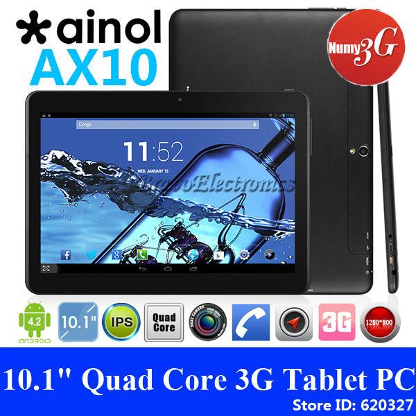 Планшет Ainol Numy 3G AX10 4Ядра+16Gb+2Sim/3G