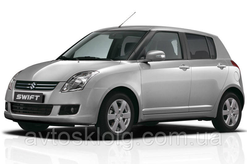 Стекла лобовое, заднее, боковые для Suzuki Swift (Хетчбек) (2005-2010)