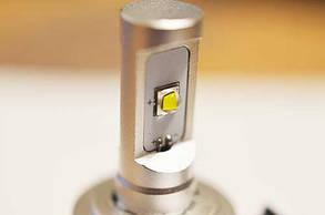 Комплект светодиодных ламп в основные фонари под цоколь Н7 20W 2600 Люмен/Комплект, фото 2