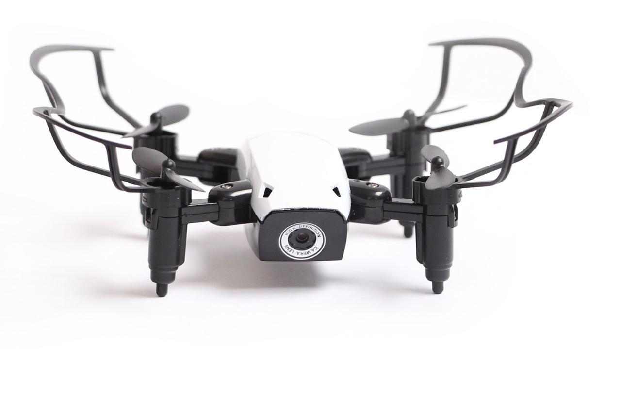 Квадрокоптер Aircraft  S9hw Drone mini с камерой и wi-fi Белый