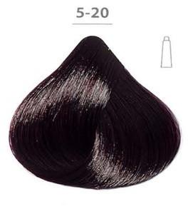 Ducastel Subtil Creme - крем-краска для волос 5-20 - Светлый шатен ярко-фиолетовый, 60 мл