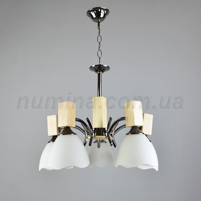Люстра подвесная на пять лампочек 05-30954/5BK