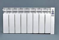 Электрорадиатор низкопольный на 8 секций 960 Вт ОптиМакс