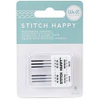Комплект игл We R Stitch Happy Machine Needles 6/Pkg