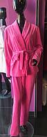 Костюм домашний женский MODENA  DK035-2 (пиджак и штаны) Розовый