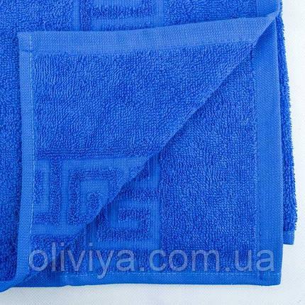Полотенце для бани (синее), фото 2