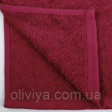 Полотенце для бани (бордовое), фото 2