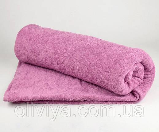 Полотенце для бани (сиреневое), фото 2