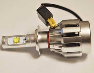 Комплект светодиодных ламп в основные фонари под цоколь H7 Cree 30W 3500 Люмен/Комплект, фото 2