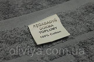 Полотенце для сауны/пляжа (темно-серое), фото 2