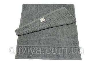 Полотенце для пляжа темно-серое, фото 2
