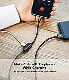 Аудио USB-адаптер Baseus Music Series Audio Cable for iPhone (Lightning) , фото 7