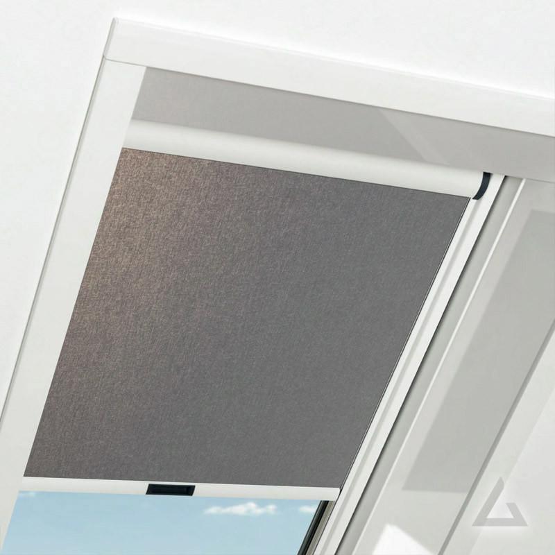Штора Roto ZRE на направляючих для мансардних вікон Сонцезахисна шторка Рото шторы ROTO Exclusiv ZRE E