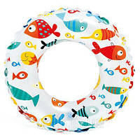 """Надувной круг """"Рыбки"""", 61 см 59241 sco"""