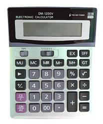 Настольный калькулятор DM 1200V