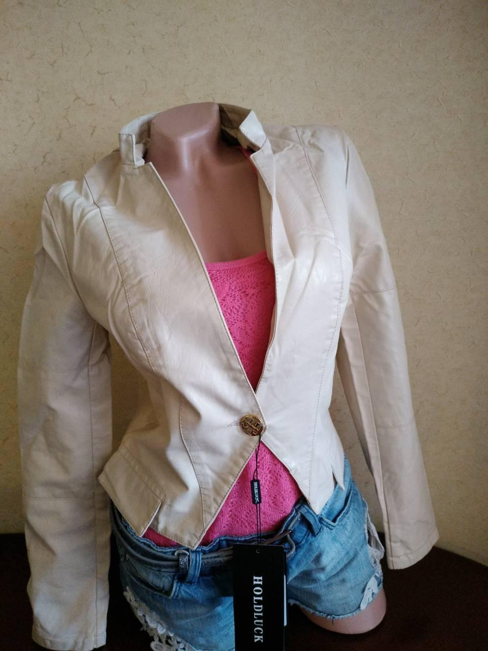 Курточка женская кожзам