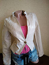 Курточка жіноча кожзам