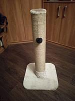 Когтеточка для кошек круглая 80 см. (Бежевого цвета), фото 1