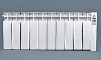 Электрорадиатор низкопольный на 10 секций 1200 Вт ОптиМакс