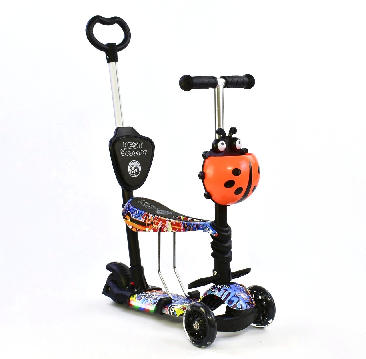 Самокат 5 в 1 Best Scooter 63010