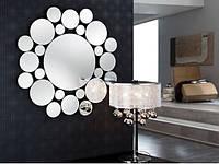 Настенное панно-зеркало диаметр 1000мм (R7-1), фото 1
