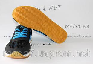 Кроссовки женские черные Nike сетка реплика, фото 3