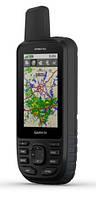Туристический GPS навигатор Garmin GPSMAP 66st, TopoActive Europe