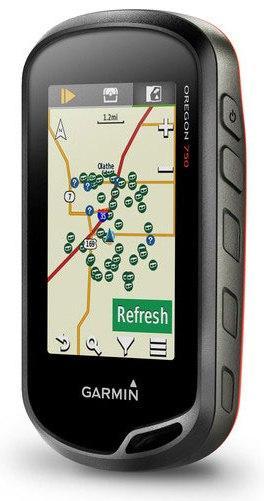 Туристический GPS навигатор Garmin Oregon 750