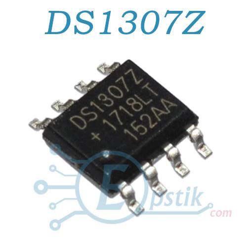 DS1307Z, микросхема, часы реального времени, SOP8