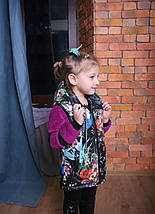 Жилетка Детская Теплая детская жилетка Детский жилет купить Новинка 2019 Топ продаж Подарок сумка, фото 3