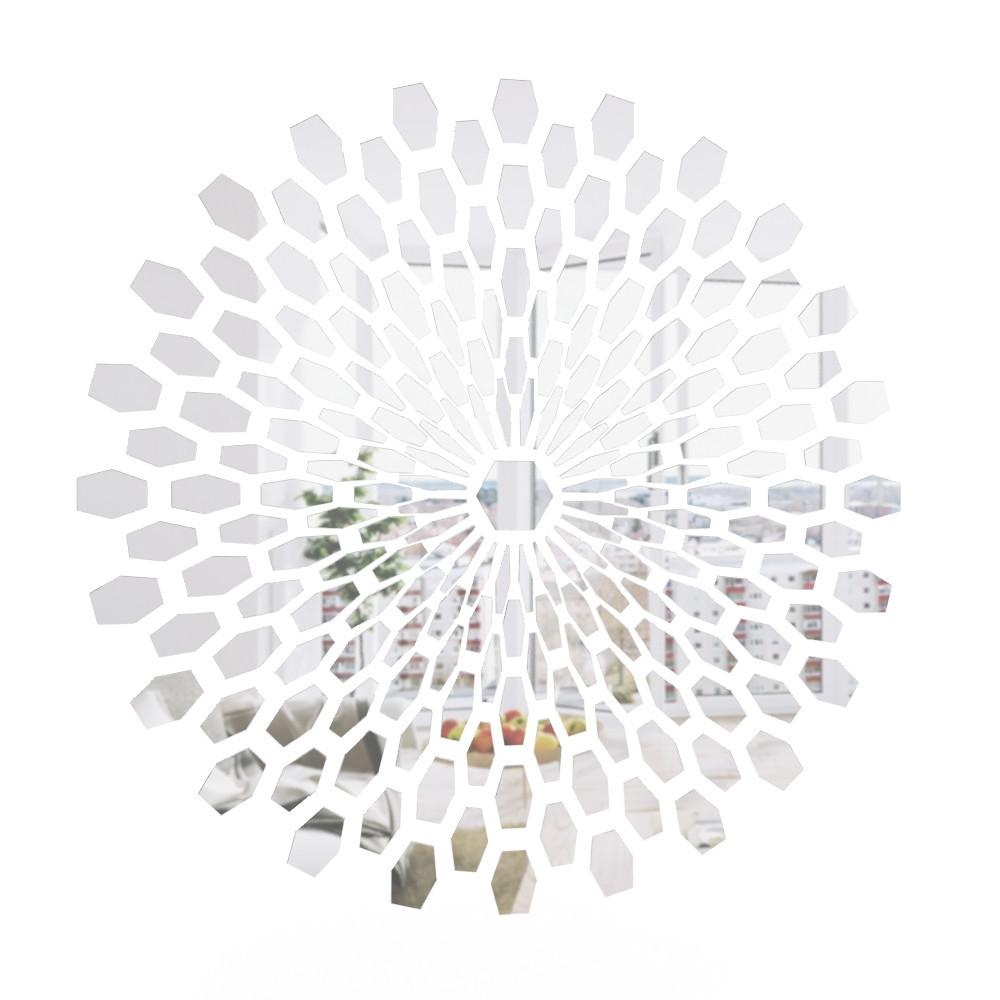 Настенное панно зеркальное диаметр 1000мм (R16-1)