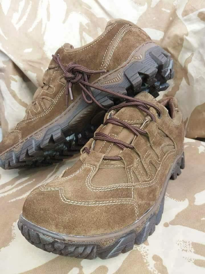 Кроссовки тактические демисезонные Tactic PRO dark brown коричневые