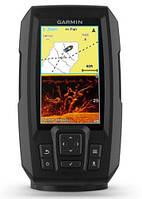 Эхолот с GPS навигатором Garmin Striker Plus 4cv, Worldwide w/GT20