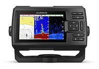 Эхолот с GPS навигатором Garmin Striker Plus 5cv, Worldwide w/GT20