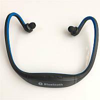 Беспроводные Спортивные Bluetooth Наушники-гарнитура Синий цвет