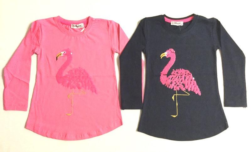 Туника Фламинго на возраст 4-7 лет