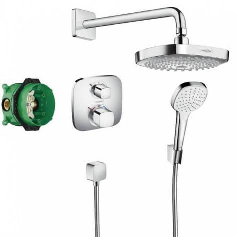 ShowerSet Croma Select E/Ecostat E Душевой набор (верхний, ручной душ, ibox, термостат), фото 2