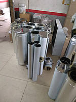 Дымоход одностенный Ø150 (AISI 430) 0,5мм