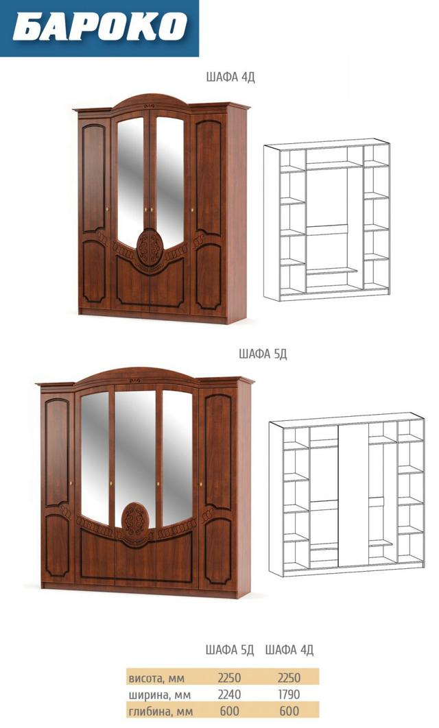 Шкаф 4Д