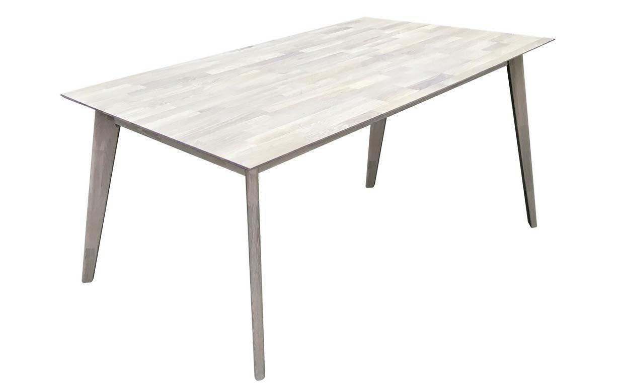 """Раскладной дубовый стол """"Нордик G"""" 80х120+50см"""