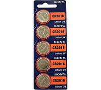 Батарейка CR SONY CR2016 5 BL (аналог: ECR2016 KCR2016 BR2016 LM2016 2016) цена за 1 шт
