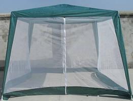 Садовый павильон 3х3м с москитной сеткой