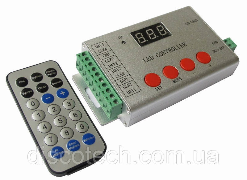 Контроллер для управления RGB пикселями YM-802SE