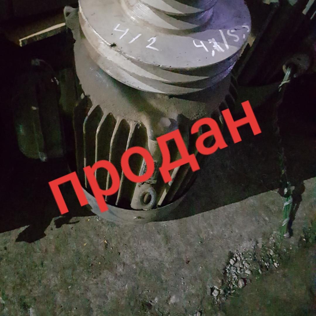 Электродвигатель двухскоростной 4.7/5.5 кВт 1500/3000об/мин ао лаповый