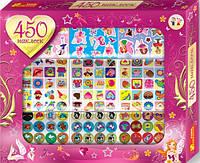 Набор детских наклеек 450 шт. для девочек Ranok-creative