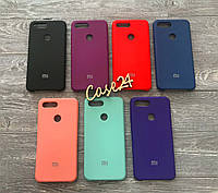 Чехол Soft touch для Xiaomi Mi 8 Lite (7 цветов)
