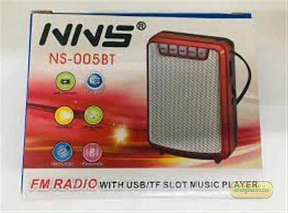 Радиоприемник портативный c USB/SD и Bluetooth функцией NNS NS-005 BT , фото 2