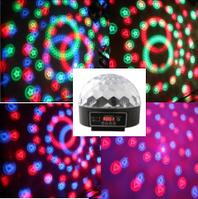 Дискоэффект LED 3*5W RGB BIGlights BMGOBOBALL