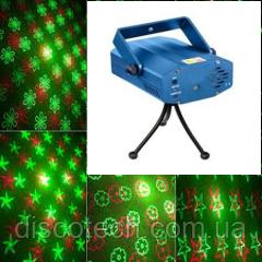 Лазер твинклинг G-30mW, R-100mW BIGlights Mini4